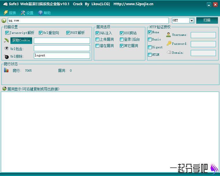 PC版 网站漏洞一键检测神器 第1张