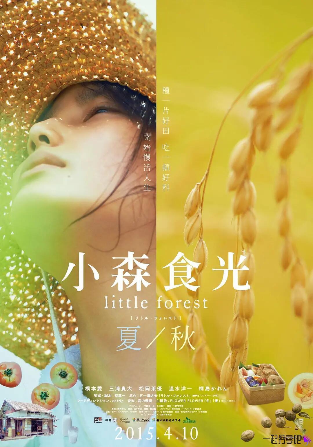 2014年剧情电影《小森林●夏秋篇》BD日语中字版 第1张